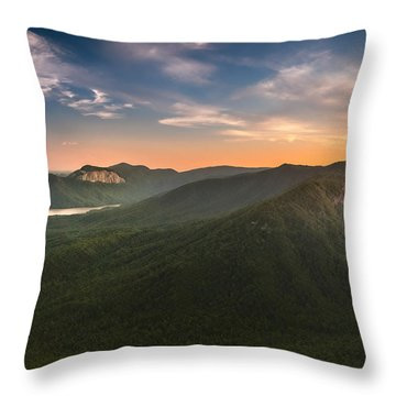 Table Rock Sunset Throw Pillow