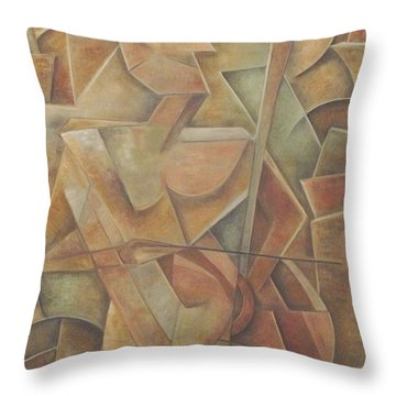Tacit Throw Pillow