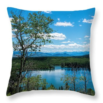 Taggart Lake Throw Pillow