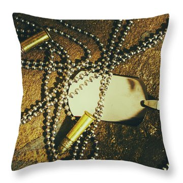 Throw Pillow featuring the photograph Tagging The Fallen by Jorgo Photography - Wall Art Gallery