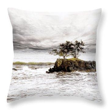 Gorgeous Tahiti Throw Pillow