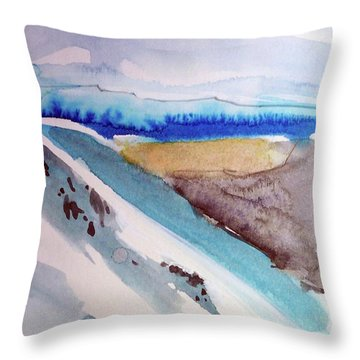 Tahoe City Throw Pillow