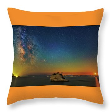 Tahoe Nights Throw Pillow