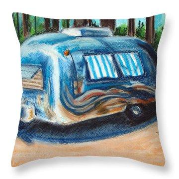 Tahoe Stream Throw Pillow