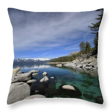 Tahoe Wow Throw Pillow