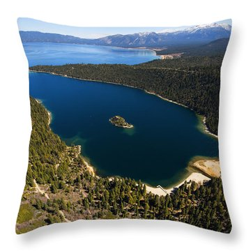 Tahome Throw Pillow