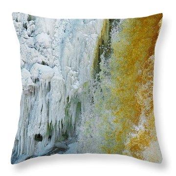 Tahquamenon Falls Throw Pillow
