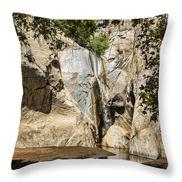 Tahquitz Falls Throw Pillow