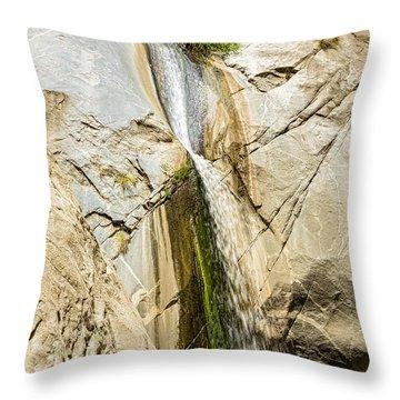 Tahquitz Falls Three Throw Pillow