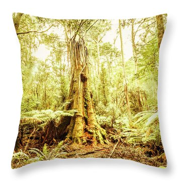 Tahune Forest Reserve Throw Pillow