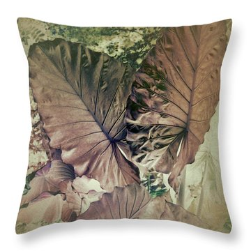 Throw Pillow featuring the digital art Tai Giant Abstract by Robert G Kernodle
