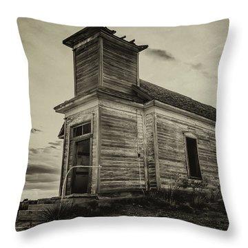 Taiban Presbyterian Church, New Mexico #2 Throw Pillow
