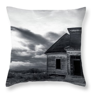 Taiban Presbyterian Church, New Mexico #3 Throw Pillow