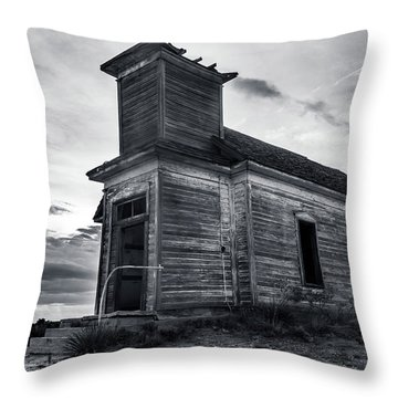 Taiban Presbyterian Church, New Mexico Throw Pillow