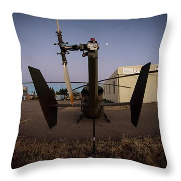 Throw Pillow featuring the photograph Tailblade by Paul Job