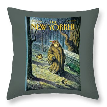 Tailed Throw Pillow