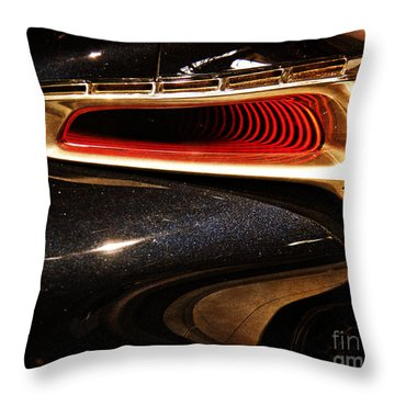 Taillight Of The Future Throw Pillow