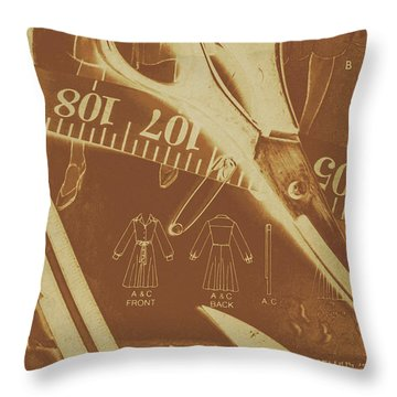 Tailor Art Throw Pillow
