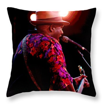Taj Mahal Throw Pillow by Jim Mathis