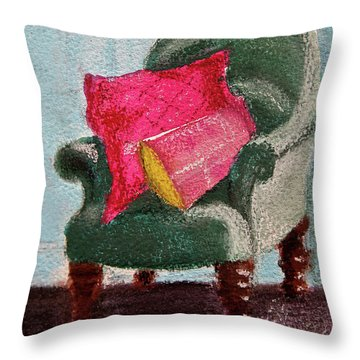 Take A Rest Throw Pillow by Linde Townsend