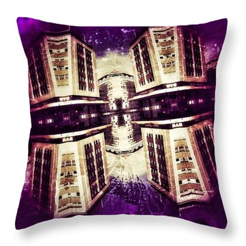 Take Care Of Us Captain Throw Pillow by Jorge Ferreira