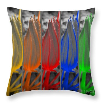 Take Five  Throw Pillow