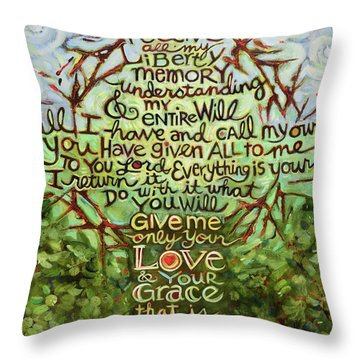 Take Lord, Receive Throw Pillow