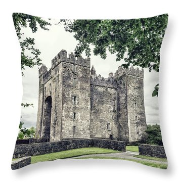 Take Me Back In Time Throw Pillow