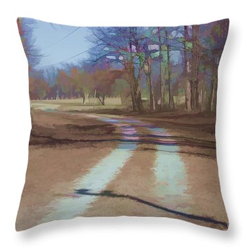 Take Me Home Country Road Throw Pillow