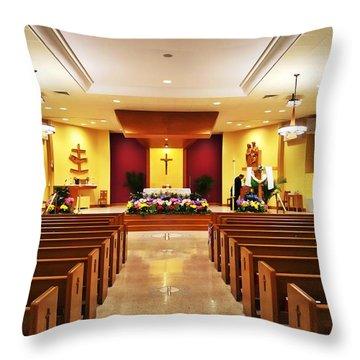 Take Me To Church Throw Pillow