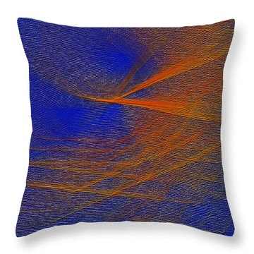Take Off Throw Pillow by Constance Krejci