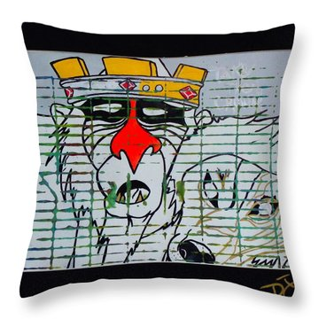 Take The Crown Throw Pillow