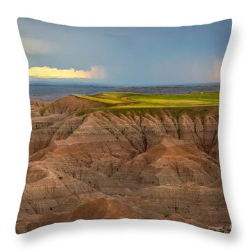 Take The High Road Throw Pillow