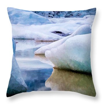 Take The Space Between Us And Fill It Up Some Way Throw Pillow