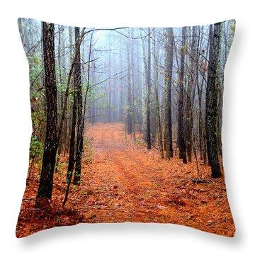 Taking A Stroll Throw Pillow