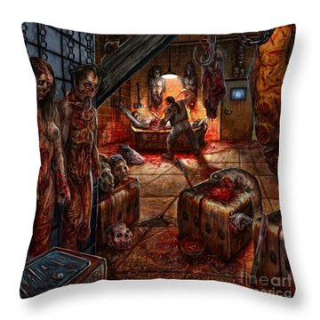 Taken Away Throw Pillow by Tony Koehl