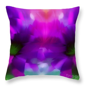 Taken By Colors Throw Pillow