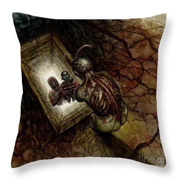 Taken Throw Pillow by Tony Koehl