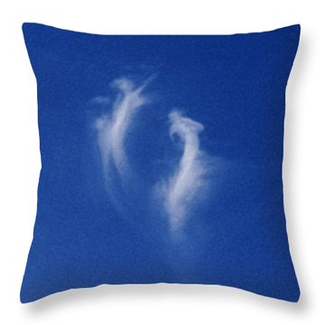 Takes Two To Tango Throw Pillow