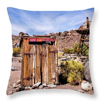 Takin A Break Throw Pillow