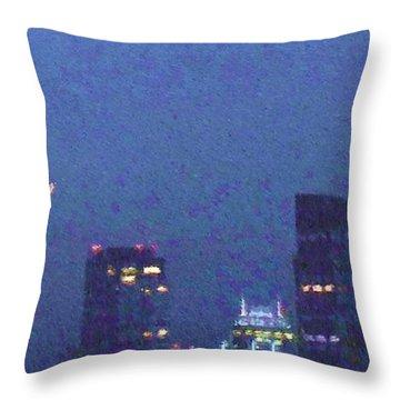 Takin' On Boston Throw Pillow