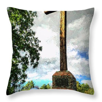 Taking A Knee Where It Matters Throw Pillow