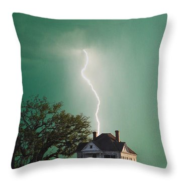 Taking Another Hit Throw Pillow