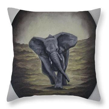 Taking Charge Throw Pillow
