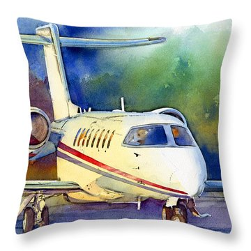 Taking Flight Throw Pillow by Andrew King