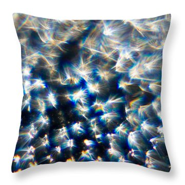 Throw Pillow featuring the photograph Taking Flight by Greg Collins