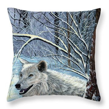 Taking It Easy Throw Pillow
