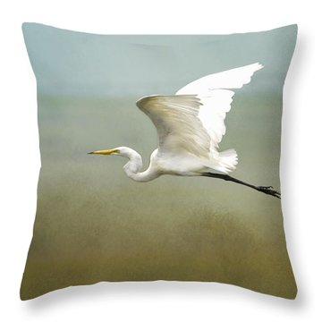 Taking Off  Throw Pillow