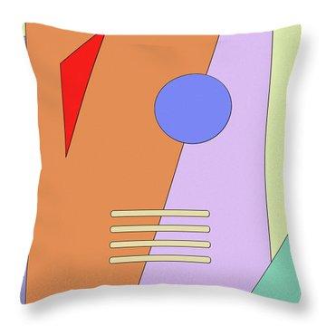 Taking Shape Throw Pillow by Richard Rizzo