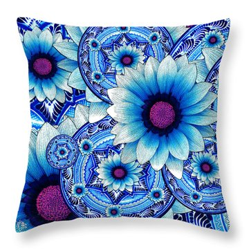 Talavera Alejandra Throw Pillow